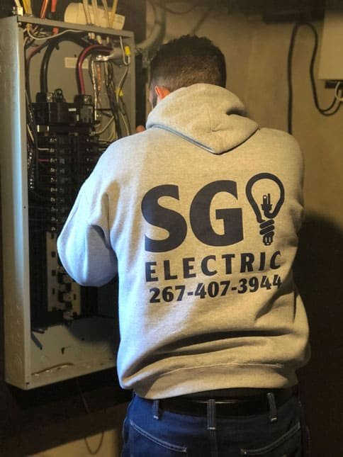 electrical code violation repair Philadelphia and Montgomery county pa